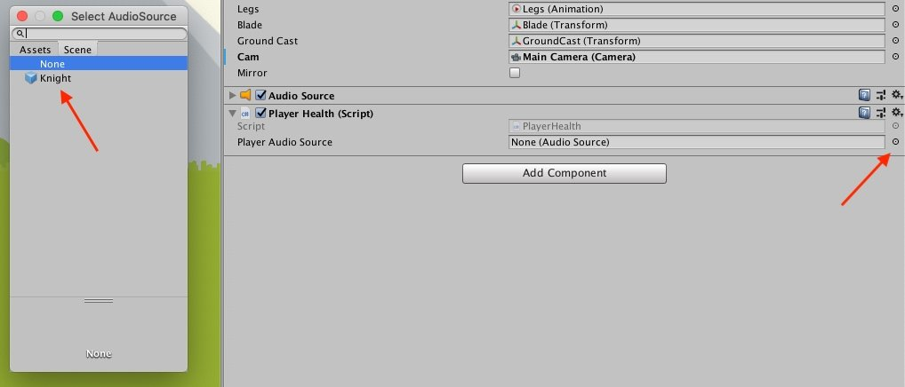 Circle Select Unity Inspector