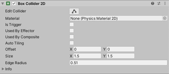 2D Collider Component