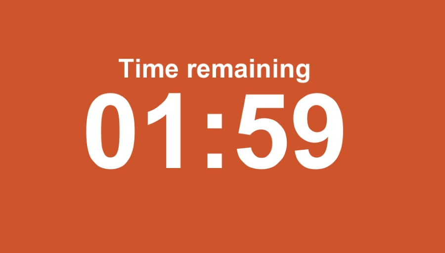 Countdown timer in minutes and seconds made in Unity