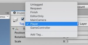 Player Tag in Unity