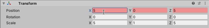Screenshot - Recording transform changes to Keyframe