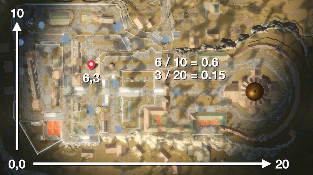 Unity Terrain Map Example