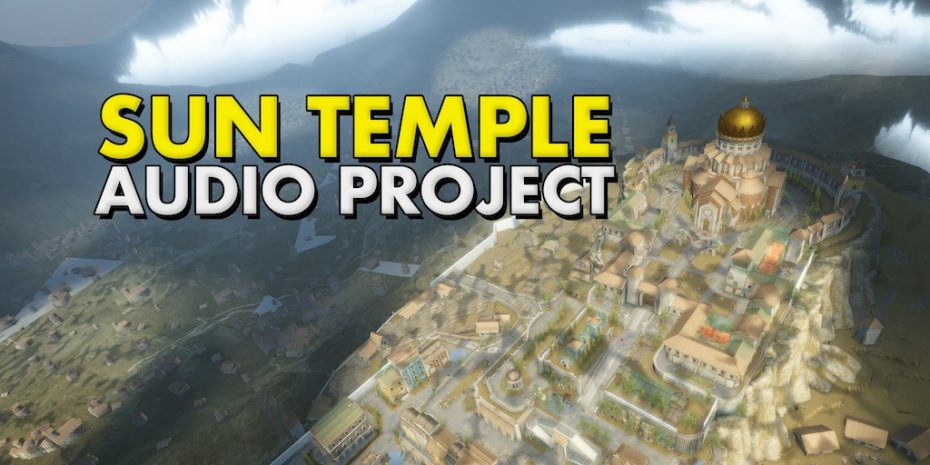 Sun Temple Audio Project