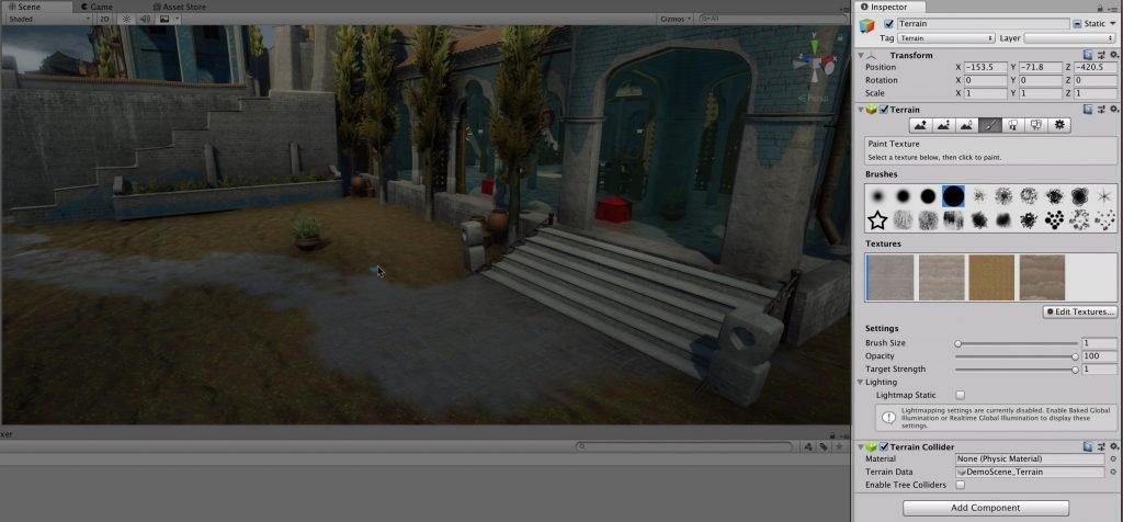Terrain Texture Options (Unity)