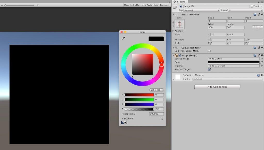 Unity Loading Screen UI Image